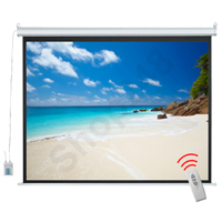 VISION 電動投影屏幕 Electric Projector Screen (連遙控/80x80吋)