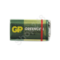 GP GreenCell 碳性電池 (9V)