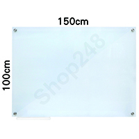 Magnetic Tempered Glass Whiteboard 磁性強化玻璃白板 100x150cm