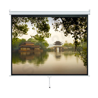 VISION 掛牆式投影屏幕 Wall Mounted Manual Projector Screen 60 x 60 吋