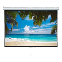 VISION 掛牆式投影屏幕 Wall Mounted Manual Projector Screen (4:3/ 84吋 - 67吋 x 50吋)