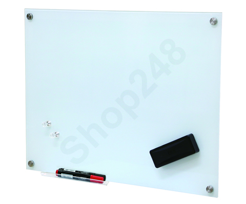 Magnetic Tempered Glass Whiteboard 磁性強化玻璃白板 90x120cm